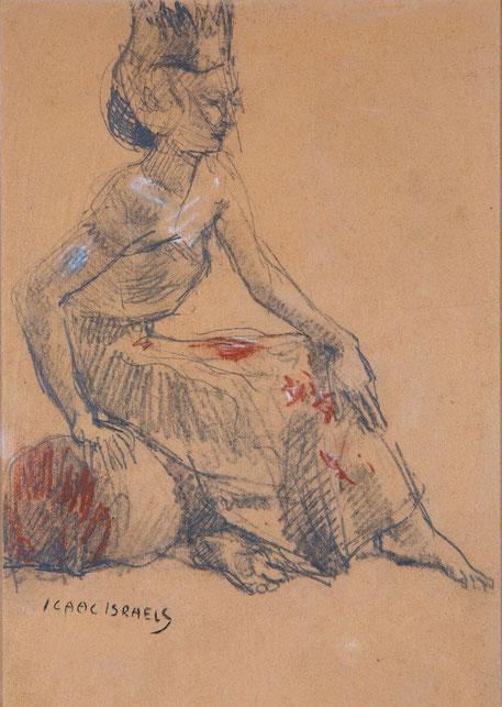 te_koop_aangeboden_een_kunstwerk_van_de_kunstschilder_isaac_israels_1865-1934_amsterdamse_school