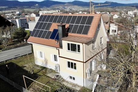 Dachaufstockung Olten, Wohnraum vergrössern, neue Dachetage aufbauen, Spenglerarbeiten, Dachsanierung Dulliken,