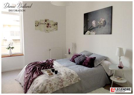 Décoration appartement témoin chambre promoteur immobilier