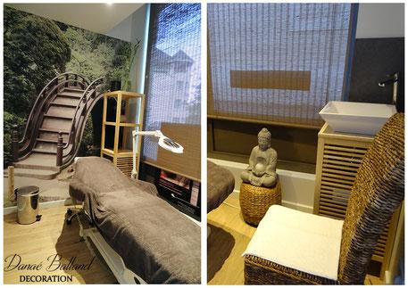 Décoration insitut beauté spa zen asiatique chic