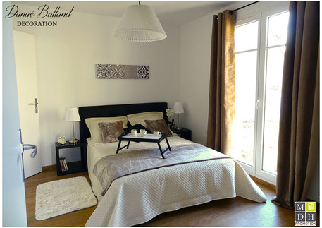 Appartement témoin décoré chambre maison promoteur immobilier