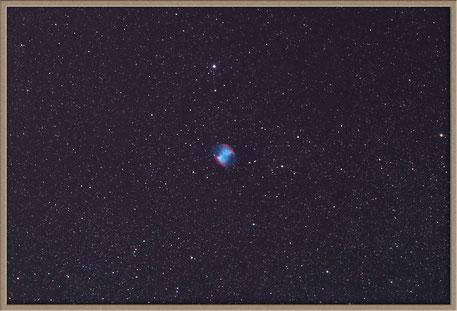 Messier 27 Dumbbell Nebula - M 27 Hantelnebel  MeixnerObservatorium