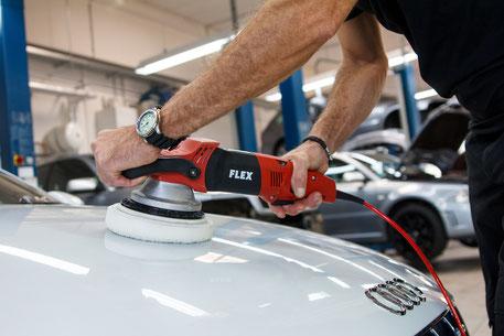 Damm-Fahrzeugtechnik / Audi RS4 / Tuning / Autoaufbereitung