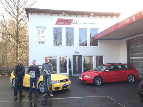 Besuch AMS bei Damm-Fahrzeugtechnik // Foto: Privat
