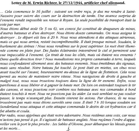 in Alain Le Berre Combats Navals côtes de Vendée