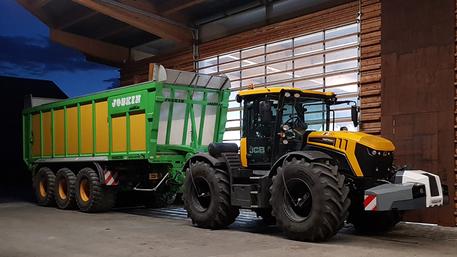 TerraCare Reifendruckregelsystem Traktor Anhänger Güllefass