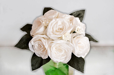 Ramo artesanal, flores de tela, ramo tela, rosas natural, rosas de tela, bouquet tela, flores artificiales.