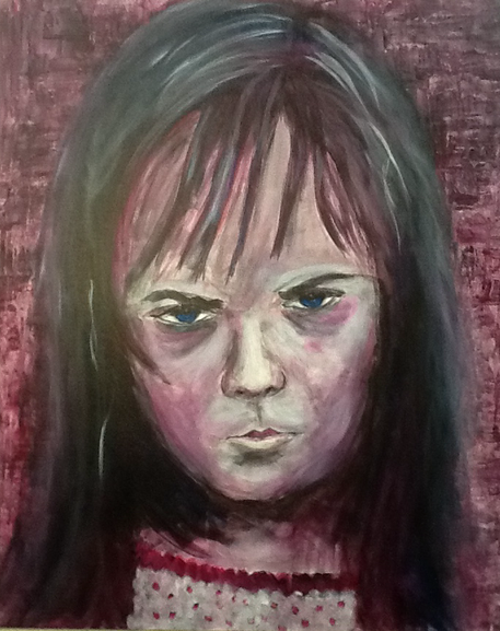 I am me, meine Daten bekommt ihr nie! Acrylic on Canvas / 80 x 100 cm