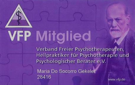 Imagem Cartão de identificação membro de VFP e.V.