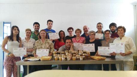 curso, gratis, castellar de santiago, ciudad real, alumnos, conservas, cocinados cárnicos, gratuito