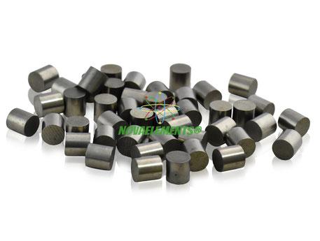 molybdenum metal, molybdenum pellets, molybdenum cylinders, molybdenum rods, molybdenum evaporation nuggets, molybdenum shoots, molybdenum sample for element collection, nova elements molybdenum