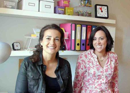 Silvia Llorens y Elisabeth Comabella - AorganiZarte