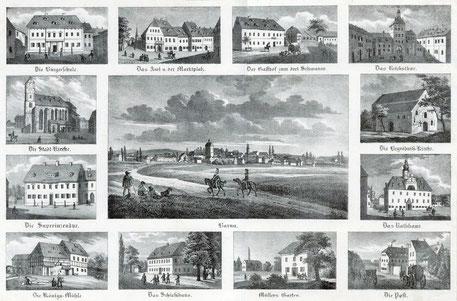 Borna 1840 Quelle: Deusche Fotothek