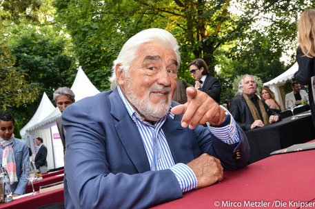 Aus Schauspiel und Regie kam Mario Adorf (Mitglied des Kuratoriums).