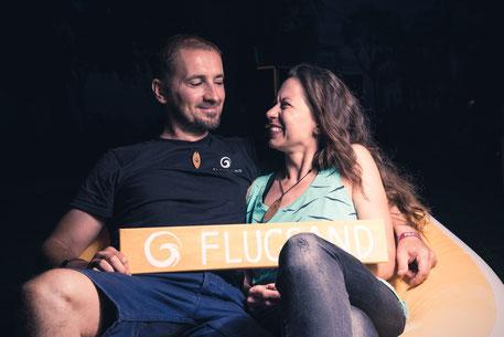 Stefan & Kathrin - das Paar hinter FLUGSAND