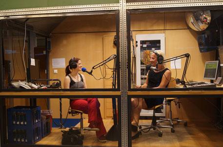 Claudia und Dana bei HORADS Bild: Dana Diezemann
