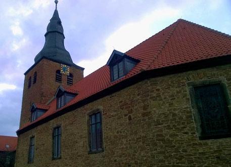 Das ist die Behnsdorfer Kirche