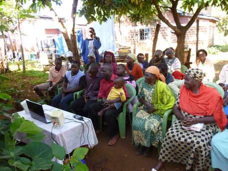 Moringa Präsentation Afrika