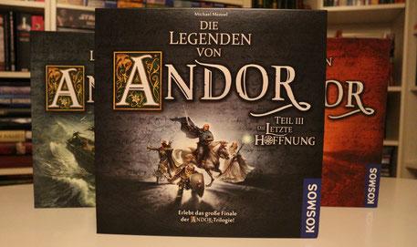 Legenden von Andor 3 - Die letzte Hoffnung Test