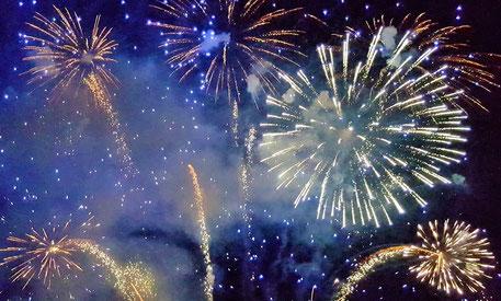 Feuerwerk, Fest, Erfolg
