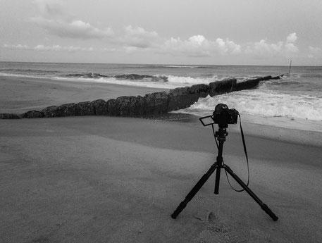 Canon Eos 700 D von Thomas Barton bei einem Shooting an der Nordsee.