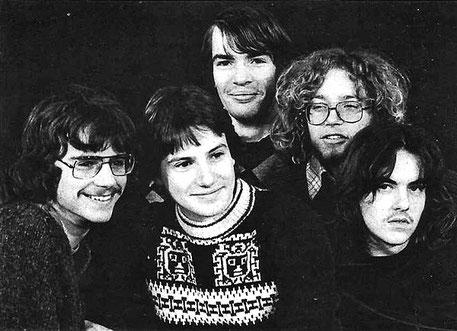 Die Band Gravestone aus Illertissen ganz am Anfang ihrer Karriere. Von Metal-Outfit noch keine Spur.