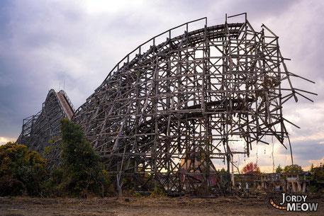 Derniers jours du roller coaster de Dreamland à Nara photo de Jordy Meow