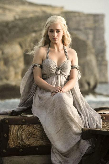 Targaryen-Königin: Darf ungestraft als Drache bezeichnet werden.