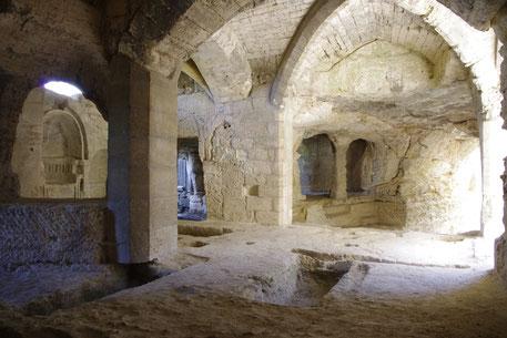 Die Kapelle von Saint-Roman Abtei