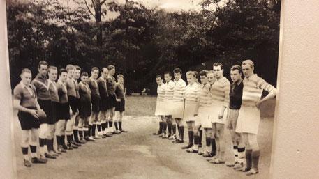 hinten rechts: Karl-Heinz Apel