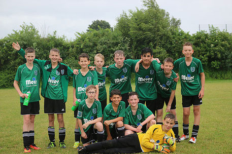 Von links oben: Jannik, Alessandro, Leon, Jan Hendrik, Neils, Meraj, Adrian, Dennis Von links unten: Fabien, Flavio, Benjamin und Emil.