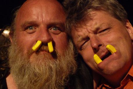 Jan Klemens und Michael Völkel als Deutsch-Holländisches Folk- und Rock-Projekt