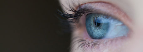 Foto vom menschlichen Auge