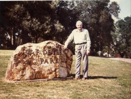 Gedenkstein in Jackson