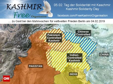 04.02.2019 - Free Kashmir zu Gast bei den Mahnwachen Berlin