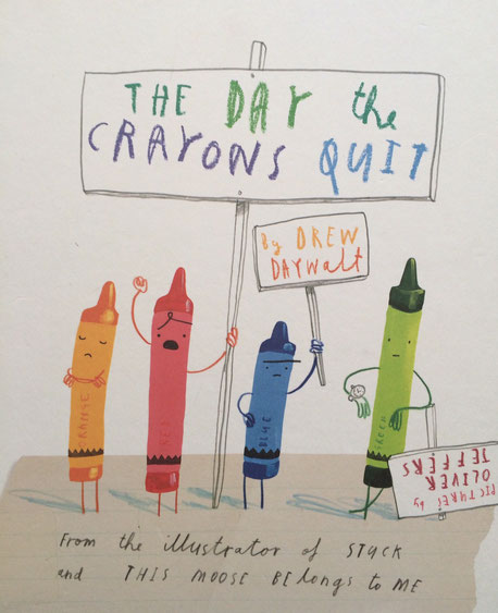 The Day the Crayons Quit is a wonderful selection for higher-level thinking and fun!