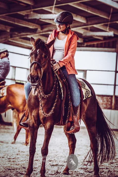 Westernreiten, Reitweisenübergreifend, Horsemanship, Reitunterricht,  NRW, Clover Leaf Ranch