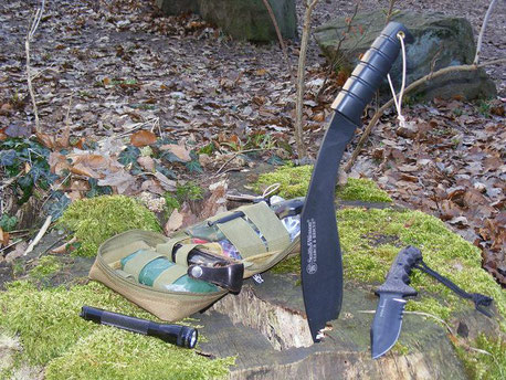 Survivaltraining : Messer