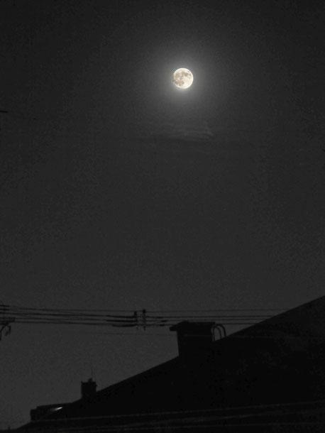 スーパームーンの中秋の名月