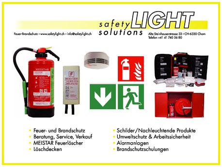 Produktübersicht Safetylight Solutions