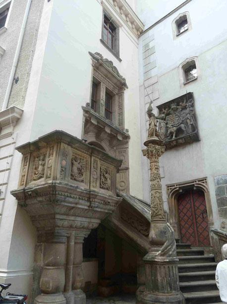 Renaissancetreppe am Görlitzer Rathaus