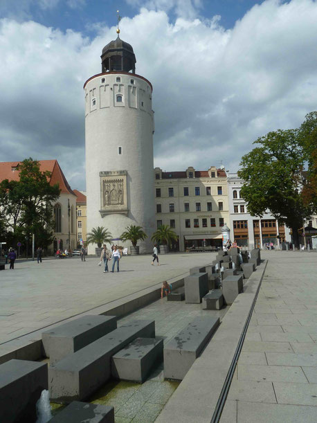 Dicker Turm am Marienplatz