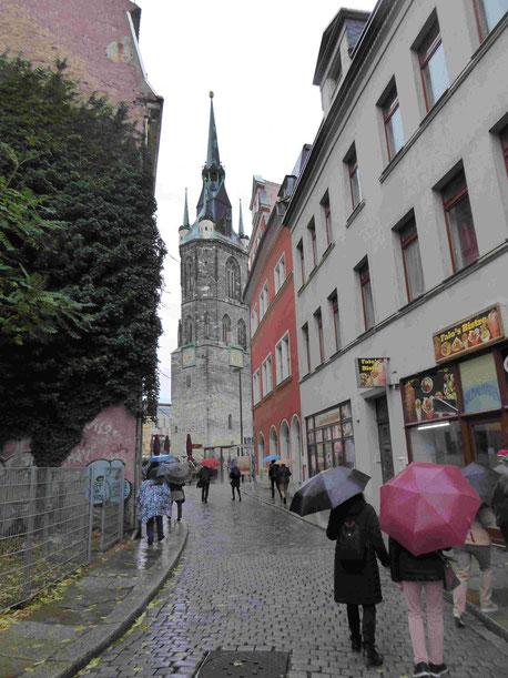 Roter Turm, Foto: Weil