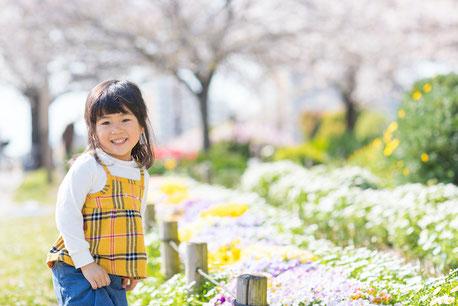 大島小松川公園 公園フォト 出張撮影 女性カメラマン 子供