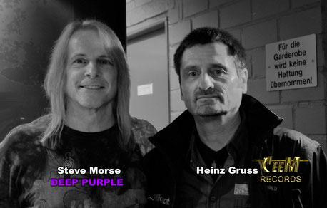 Nach langer Zeit ein Wiedersehen mit Steve Morse, dem Gitarristen der Hardrock-Band DEEP PURPLE