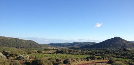 Montgères - vue sur le Mont Gèbre