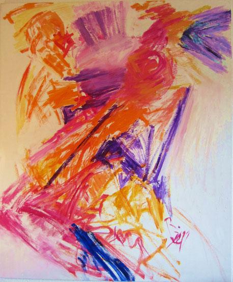Bild von Rosvita Grunwaldt mit Titel Tänzerin