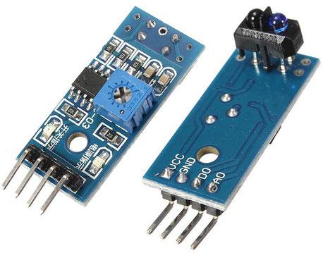 TCRT5000, guatemala, sensor infrarrojo, modulo tcrt5000, electronica, electronico, sensor