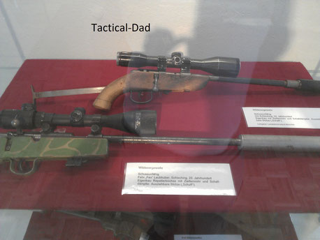 Klassische Wildererwaffen in der entsprechenden Sonderausstellung im Jagdmuseum München, wo ich natürlich sofort hin musste.