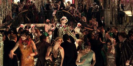 Fiesta temática Gatsby años 20